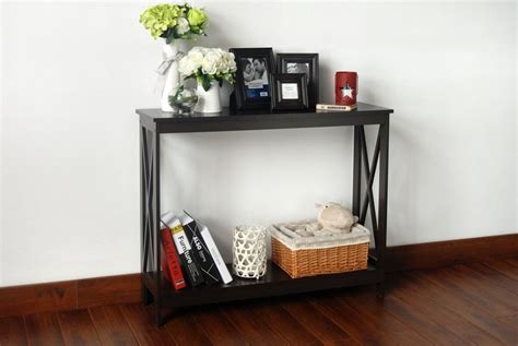 console sofa table bookshelf 187 top 14 table with shelf underneath for saving sapace