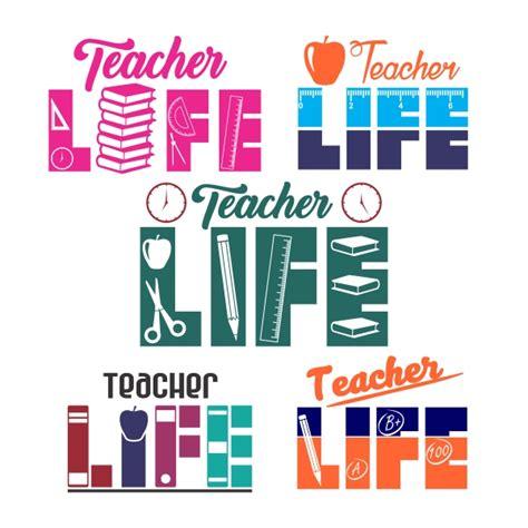 biography teacher exle teacher life cuttable design
