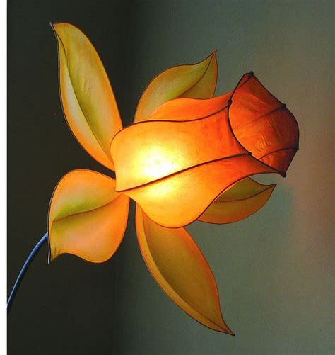 Handmade Paper Lights - paper light flower lights and paper on