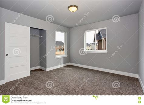 Small 2 Bedroom House Floor Plans by Small Basement Room Interior With Grey Walls And White