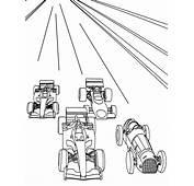 Dibujos De Autos Carrera Para Colorear  Im&225genes
