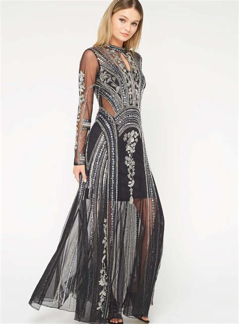 Maxi Miss Balotelli Premium 1 premium showstopper embellished maxi dress miss selfridge