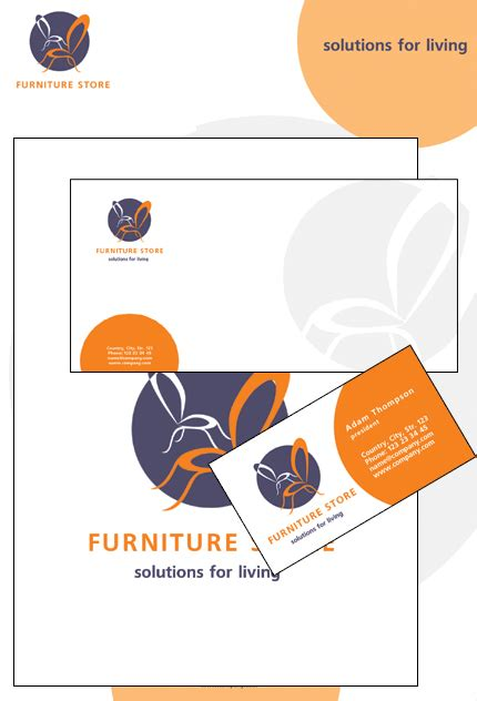 Furniture Corporate Number by Furniture Corporate Identity Template 12050