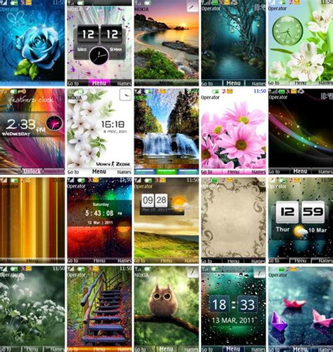 themes java nth 240x320 nth themes pack for nokia s40 game mobile free