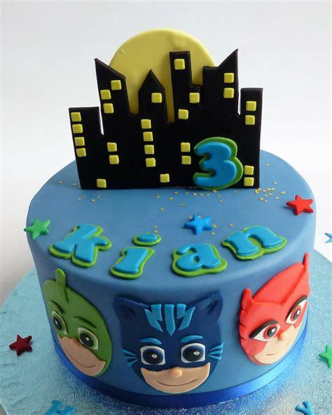 j mask p j masks cake blue s cakes