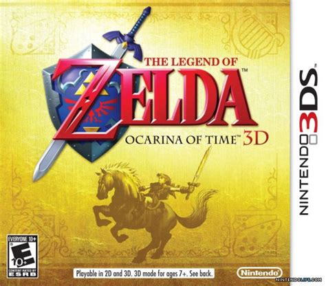 Zalfa Gamis the legend of ocarina of time 3d cover artwork