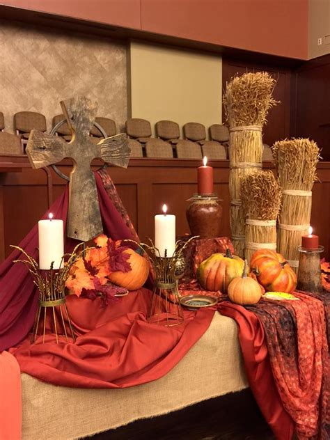 fall stage decorations 371 best images about church decorating ideas on
