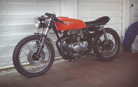 Motorrad Sitzbank Grundplatte by Auf Ein Neues Honda Cj 250 T 550moto Cafe Racer