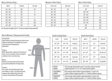 bmw apparel size chart pit crew shirts blank and custom racing apparel
