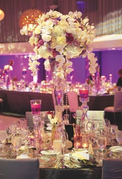 Tall Wedding Centrepieces