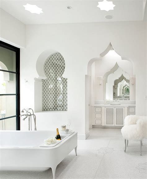 modern moroccan moroccan bathrooms with a modern flair ideas inspirations