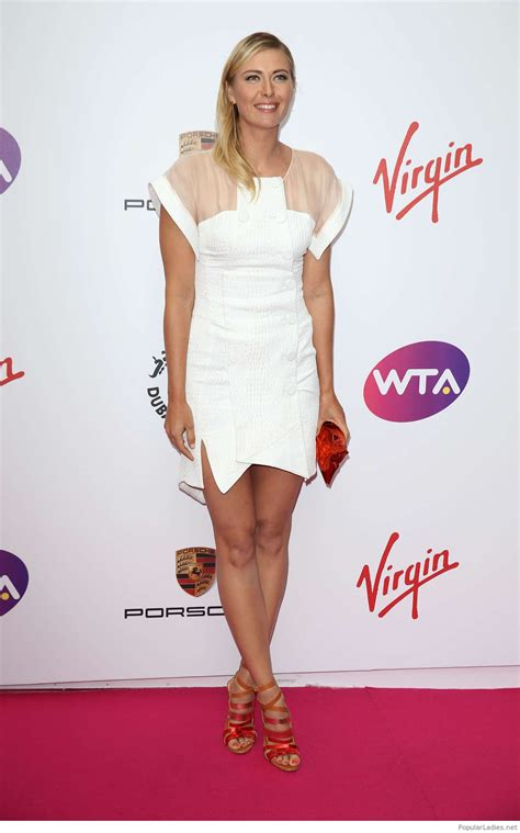 Beautiful and sweet Maria Sharapova
