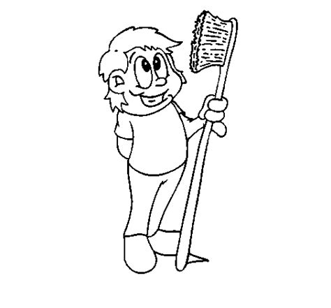 Toothbrush Coloring Page Coloringcrew Com Toothbrush Coloring Page