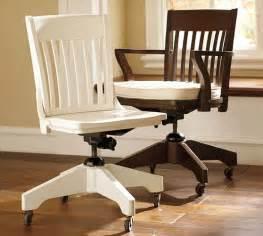 pottery barn office chair swivel desk chairs cushions pottery barn