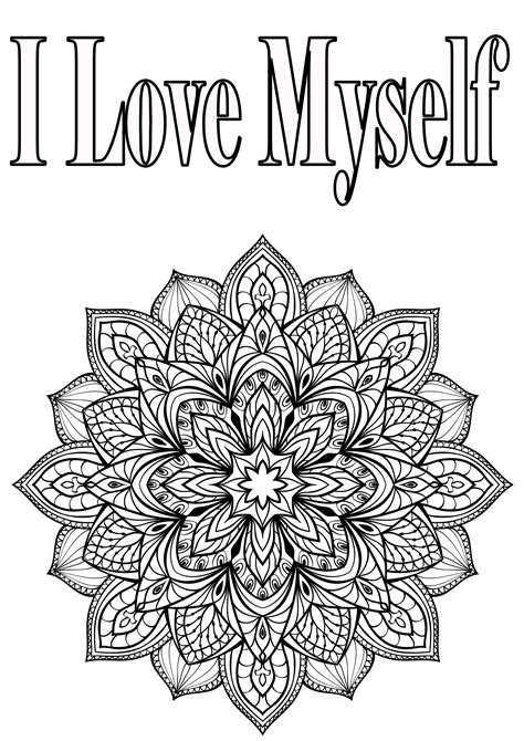 self esteem coloring pages coloring pages