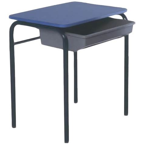 blue student desk blue school chair