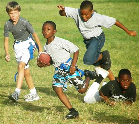 kids playing backyard football kids playing football football kids pinterest