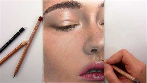 colored pencil skin tones drawing skin tones with colored pencils