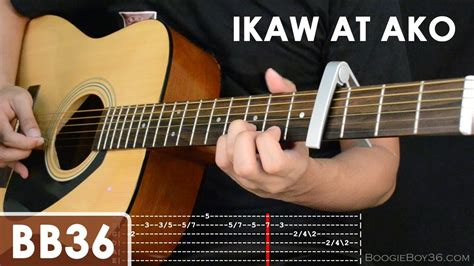 Tutorial Guitar Ikaw | ikaw at ako tj monterde guitar tutorial intro lead