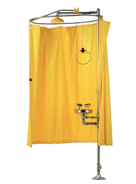 safety shower curtain modesty curtain assembly 01052149 encon safety products