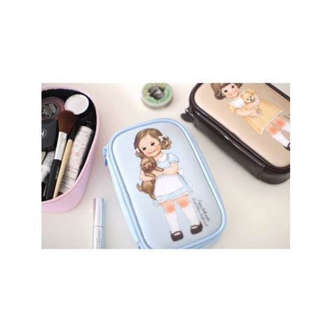 Paper Dolly Pouch 1 paper doll mate make up pouch kawaii panda cuter