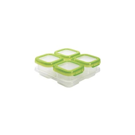 Oxo Tot Baby Block Freezer Storage Container 4oz Pink oxo oxo tot baby blocks freezer storage containers 4 ounce