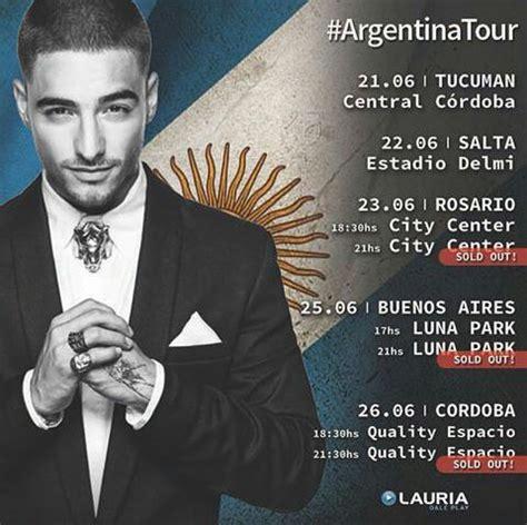 maluma concierto diciembre 2016 argentina index of media fotos conciertos maluma