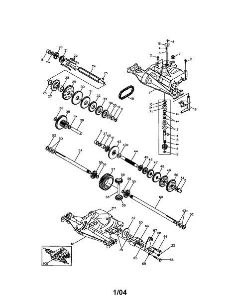 craftsman lawn mower model  manual auto electrical