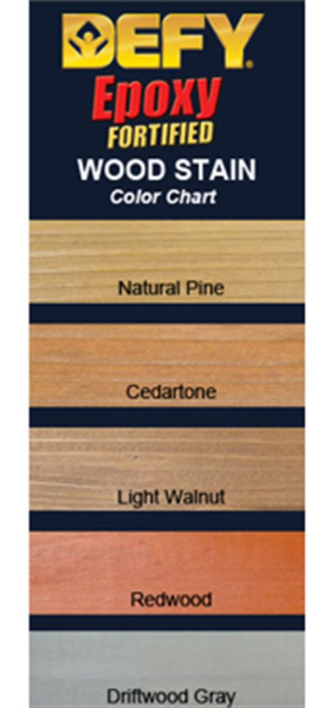 defy epoxy fortified wood stain deck stain guide