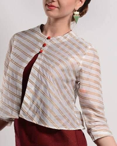 jacket pattern kurti images different types of jacket for kurtis smart easy ideas