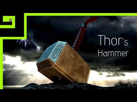thor s hammer cinema 4d youtube