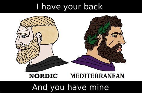 Meme Mediterranean - nordicism vs mediterraneanism page 3