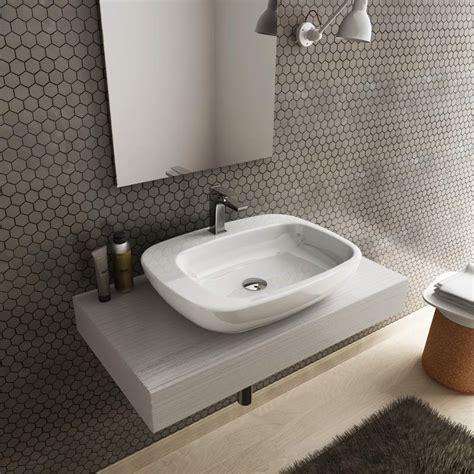 mensole per lavabo da appoggio prezzi lavabo da appoggio 60x47cm