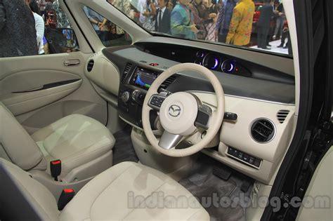 mpv car interior 2015 mazda biante limited editon giias 2015 live