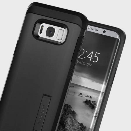 Spigen Galaxy S9 Plus Hybrid Armor Original Black spigen tough armor samsung galaxy s8 plus black