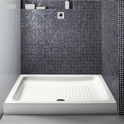 piatto doccia gsi gsi piatto doccia gsi 72x100 cm rettangolare in ceramica