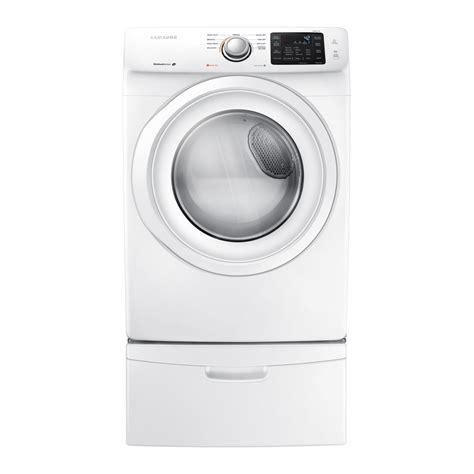 samsung dryer samsung dv42h5000ew ac 7 5 cu ft electric dryer lowe s canada