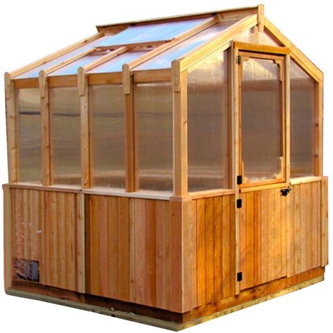 Small Greenhouses Home Depot Outdoor Living Today 8 Ft X 8 Ft Greenhouse Kit Gh88