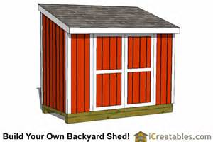 Saltbox Design 5x10 lean to shed plans lean to shed plans to build from