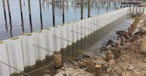 Types Of House Foundations bulkhead construction vinyl bulkheads waterfront