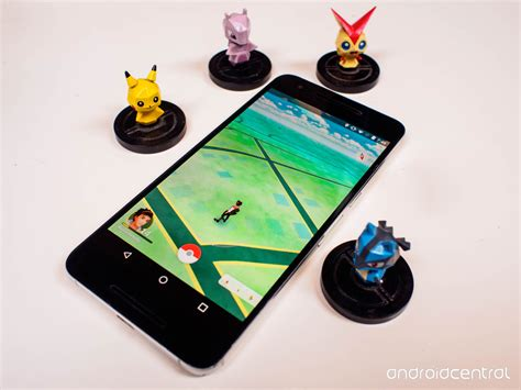 Kaos Go Lets Go To Catch Em All P010 pok 233 mon go update lets trainers catch em all on the android nougat preview android central