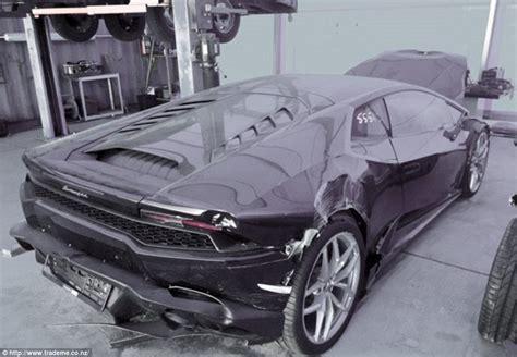 Damaged Lamborghini For Sale Uk Lamborghini Huracan For Sale For One Dollar On Trade Me In