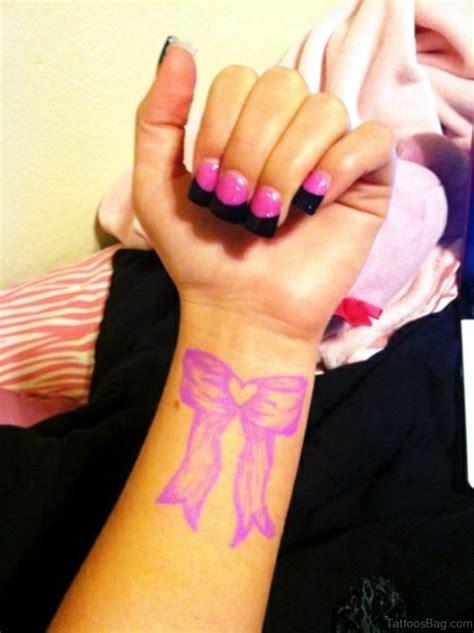 pinks wrist tattoo 21 bow tattoos on wrist
