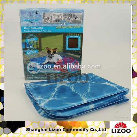 Printed Cooling Gel Pad summer cooling sleeping gel mat for pets buy chill
