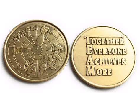 What Does Target Look For In A Background Check Target Safety Team Medallion Together Everyone Achieves More Challenge Coin Other