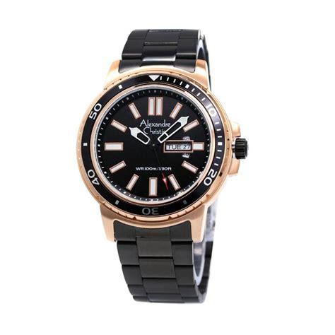 harga alexandre christie 6433 jam tangan pria gold