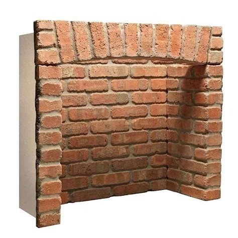 Brick Fireplace Chamber by Gallery Rustic Front Returns Arch Brick Chamber Low Prices