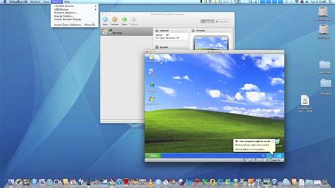how to run windows on mac os 10 how to run windows xp on mac os x 10 7 lion with free