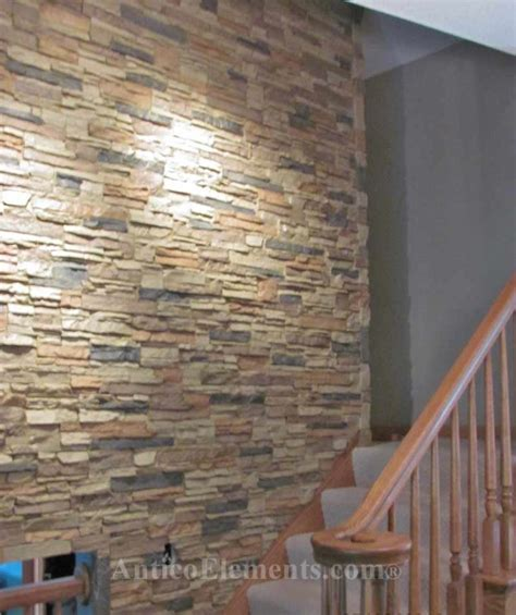 stone wall interior smalltowndjs com 7 chic diy stone and faux stone accent walls shelterness