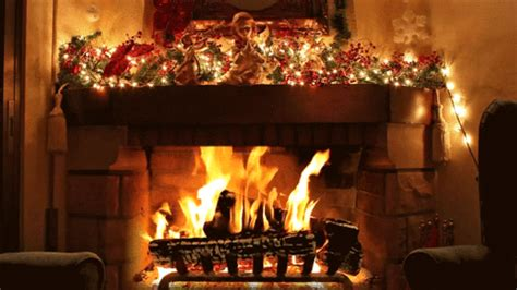 romantic wallpaper gif fireplace gif find share on giphy